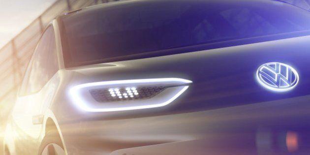 Les premières images de la Volkswagen électrique sont