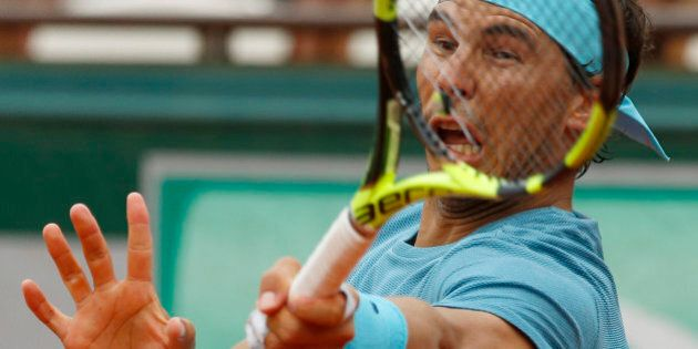 Tennis - French Open - Roland Garros - Rafael Nadal of Spain vs Facundo Bagnis of Argentina. - Paris,...