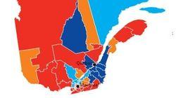 De 2011 à 2015, le contraste est frappant au Québec et à Montréal