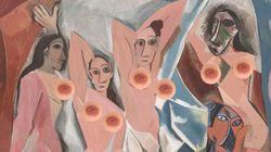 Le téton masculin, solution pour publier des nus de