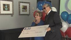 Une dame de Trois-Rivières remporte un million