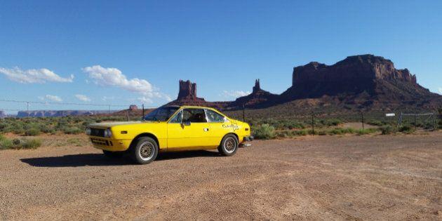 Bryce Kashman a fait l'aller-retour d'Edmonton à la Basse-Californie dans une Lancia de 40 ans