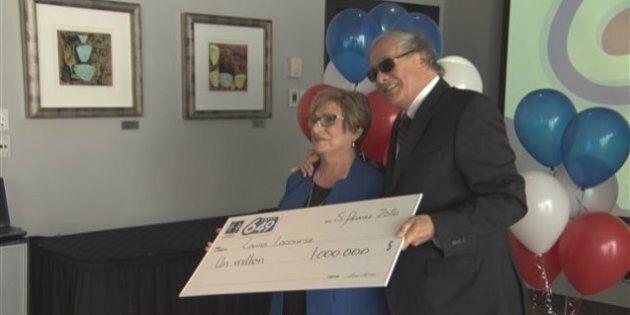 Loterie : 1 million $ pour une dame de