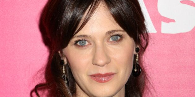 Zooey Deschanel attends the premiere