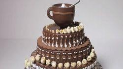 Ce gâteau au chocolat animé va vous hypnotiser!