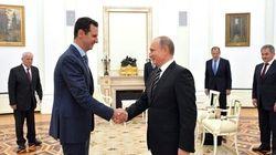 Surprise: Bachar al-Assad rencontre Vladimir Poutine