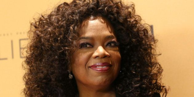 FILE - In this Wednesday, Oct. 14, 2015, file photo, Oprah Winfrey attends the premiere of the Oprah...