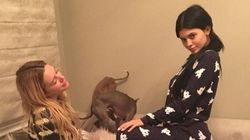 Kylie Jenner sans maquillage (mais en pyjama)