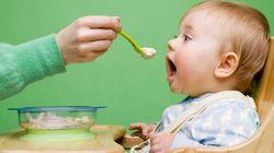 Les bébés peuvent manger des aliments