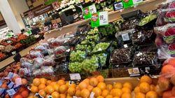Légère baisse de la facture d'épicerie des