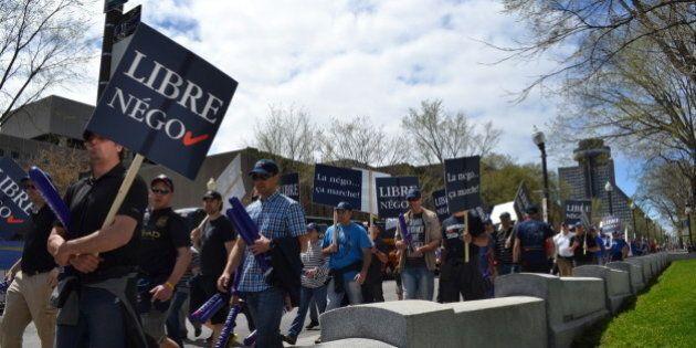 Négociations du secteur public: le Front commun a un mandat de grève à