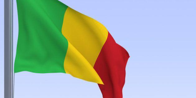 flag in