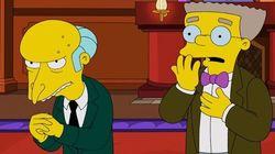 Les Simpson: la voix de M. Burns et Ned Flanders de
