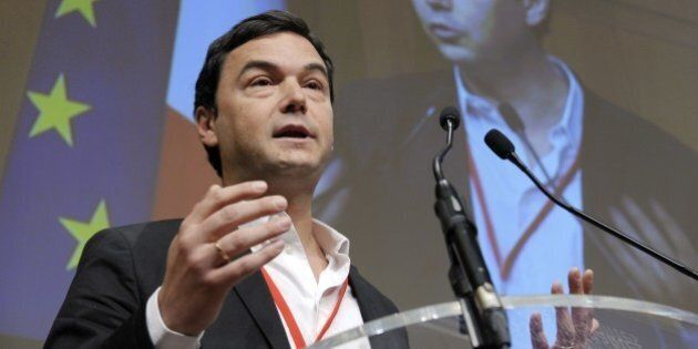 France's influential economist Thomas Piketty, author of the bestseller 'Capital in the 21st Century'...
