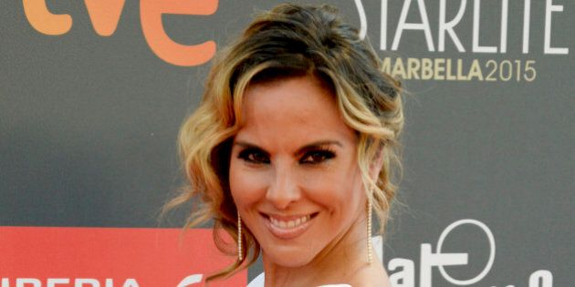 MARBELLA, SPAIN - JULY 18: Kate del Castillo attends Platino Awards Gala on July 18, 2015 in Marbella,...