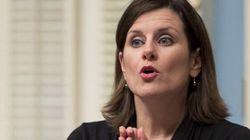 Bâtonnière: la ministre se dit préoccupée par la divulgation du dossier