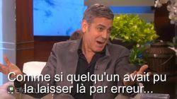 Clooney raconte son épique demande en mariage