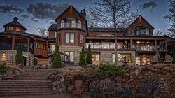 Cette superbe demeure proche de Québec pourrait vous servir de chalet
