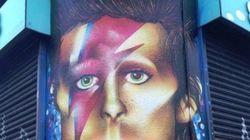 Un graffeur devient la risée du web après son hommage raté à Bowie