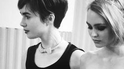 Chez Chanel, la fille de Johnny Depp et celle de Phil Collins inséparables