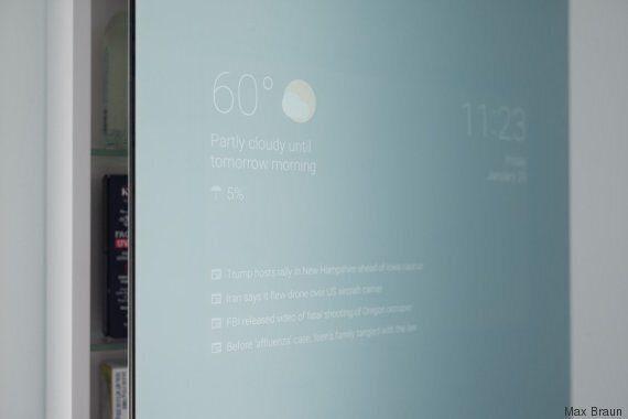 Cet ingénieur Google a inventé le miroir du futur dans ses temps
