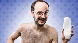 Voici ce qui se produit quand des hommes utilisent du shampooing «pour