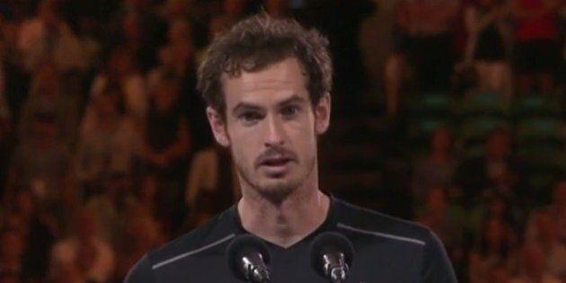 Le message émouvant d'Andy Murray à sa femme Kim Sears après sa défaite à l'Open d'Australie