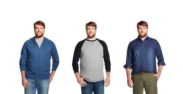 Le premier mannequin pour vêtements grande taille masculin s'appelle Zachary