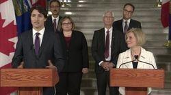 Justin Trudeau vient au secours de l'Alberta