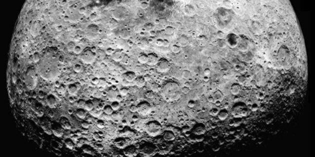 La Lune, un endroit «intéressant» pour l'exploitation minière, selon