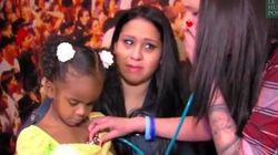 Elle rencontre la fillette qui a reçu le cœur de son bébé