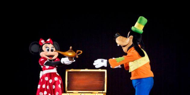 Disney On Ice: Mickey et Minnie gâtent les bouts de choux de Sainte-Justine