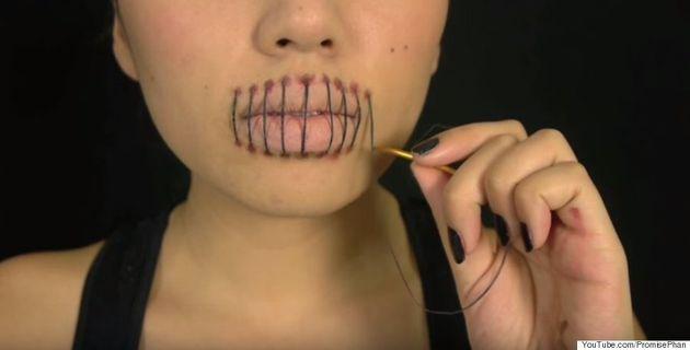 Promise Phan crée le maquillage parfait pour effrayer tout le monde à l'Halloween