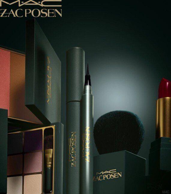 Les cosmétiques MAC s'allient au designer Zac
