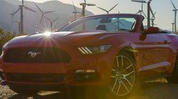 Ford Mustang GT cabriolet 2015: «muscle car» nouvelle génération