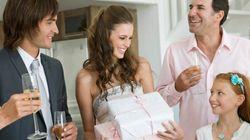 Situation délicate: un mariage, deux célébrations, un ou deux cadeau(x) et de quel