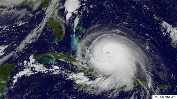 La naissance d'un ouragan