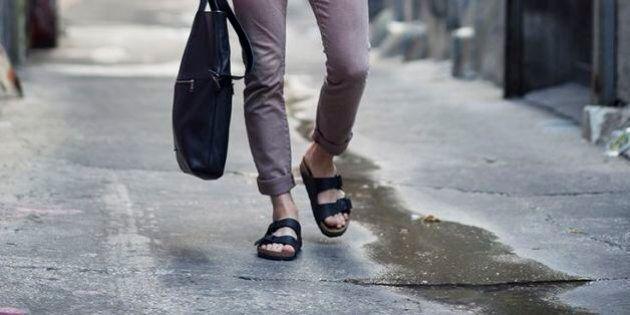 Les sandales pour hommes très tendance cet