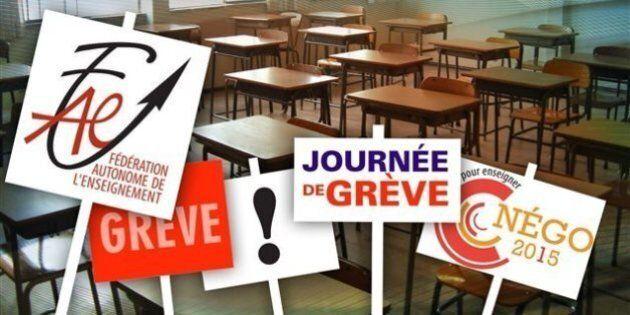 Grève des enseignants: pas d'école pour 70 000 élèves de la Montérégie le 28