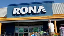 Lowe's acquiert RONA pour 3,2 milliards $