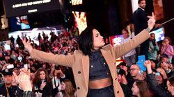 Demi Lovato: Concert surprise en plein Times Square