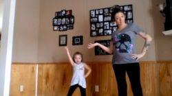 Cette maman enceinte qui danse avec sa fille passionne les