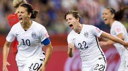 Les États Unis battent l'Allemagne au Mondial