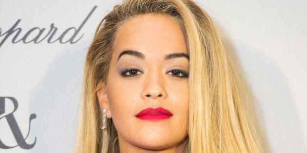 PARIS, FRANCE - JANUARY 25: Rita Ora attends the Ralph & Russo and Chopard dinner during part of Paris...