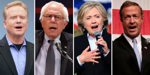Présidentielle américaine: premier débat démocrate, Clinton et Sanders en
