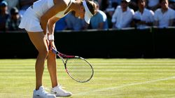 Eugenie Bouchard ne fait que passer à Wimbledon