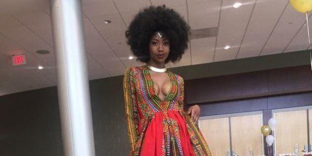 Kyemah McEntyre: la jeune étudiante de 18 ans qui avait réalisé sa robe de bal crée pour les
