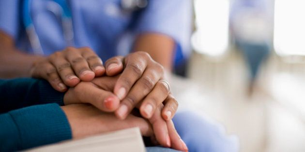 Nurse Comforting
