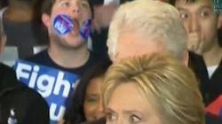«Sticker Kid» vole la vedette à Hillary Clinton