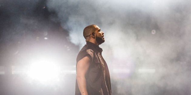 AUSTIN, TX - OCTOBER 10: Rapper Drake performs onstage during weekend two, day two of Austin City Limits...